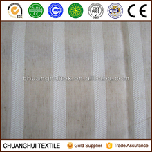 280cm width 100% polyester striped sheer curtain fabric