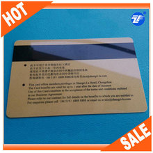 plastic standard magnetic business card
