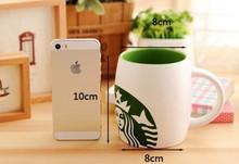 8*10cm Starbucks mug ceramic cup,breakfast porcelain