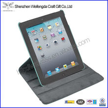 360 degree rotating leather flip case for ipad