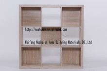 Hot-selling Honey Comb 9 Cubes Divider Storage With MDF Backboard