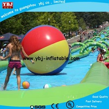 2015 New Inflatable Water Slide, Popular 200m Slide The City Slip N Slide, Inflatable Slide City