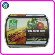 Custom Adhesive Waterproof Food Product Logo Labels,Waterproof Food Labels Printing.