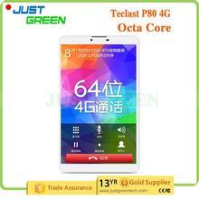 Nouvelle arrivée Teclast P80 4 G Octa Core 8 polegada 2 GB 16 GB Andriod 5.0 4 G puissance sexuels supplémentaires comprimé fabriqué en chine
