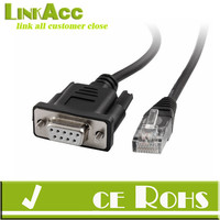 Console Cable for Cisco RS232 Cable DB9 seria Female to RJ45 Male