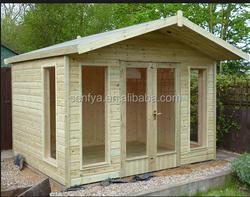 Europe standard spruce wood summer house