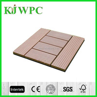 Outdoor Easy installation WPC flooring wood plastic composite flooring