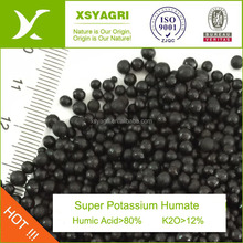 Organic Fertilize Type and Humic Acid Super Potassium Humate Granules Factory price
