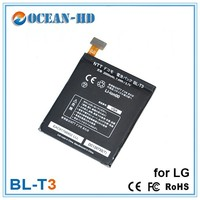 EXW price BL-T3 for LG mobile phones with 2000mah battery