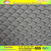 galvanized steel link chain, pvc coating chain link fence, stainless steel chain link fence weight