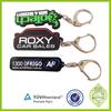 cheap plastic PVC keychain /Soft Plastic Key tag/Wholesale keyrings promotional
