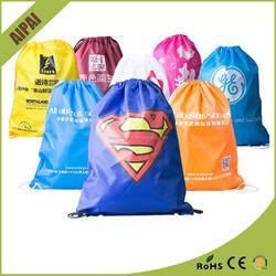 Custom Cheap Promotional Drawstring Bag,Nylon Polyester Drawstring Bag,Drawstring Shoe Bag