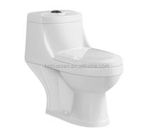 HOT-6632 Cheap Ceramic One Piece Toilet Bowl