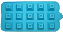 Custom Shape Silicone Ice Cube Tray Chocolate Muffin Mold FDA LFGB