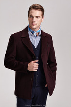 Best selling!!! 2015 new men's wool coat