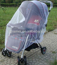 Baby Stroller Mosquito Net / Infants Safe Mesh White Insect Bug Cover