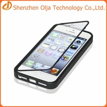 Olja flip tpu cover case for iphone 6s plus,for iphone 6s plus touch screen phone case