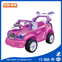 Licensed 6v Battery Powered RC Ride On Car 2015 latest classic style one person electric baby toy car