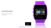 young teenager Waterproof IP 67 Smart Phone SOS Emergency GPS Tracking Watch for sole agent kids Android, iOS, app