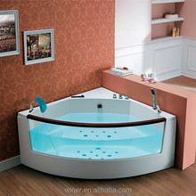 2 person portable Bathtub AW-202 indoor corner tub