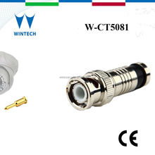 Coax rg6 cable male BNC connector