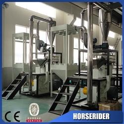 New design grinding machine for pet bottle manufacturer