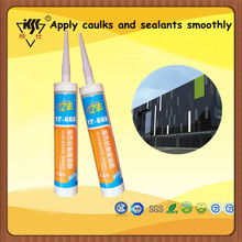 Easy To Apply Silicone Sealant For Concrete Joints/apply caulks and sealants smoothly