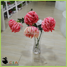 Cheap Wholesale Factory Direct Floral Fabric Flower for Christmas Decoration , Artificial flower
