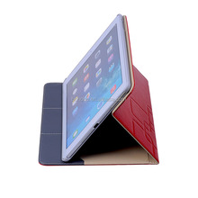 genuine leather Magnetic Stand Case Book Cover for ipad mini ipad air,computer bag and tablet sleeve