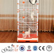[Grace Pet] Metal wire Deluxe Platforms Cat Cage