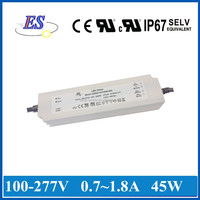 ES 45W AC-DC Constant Current LED Driver with 3 in 1 dimmer, dimmable led driver