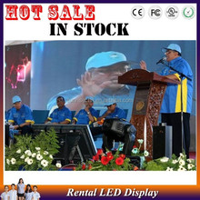 Indoor Ph6 Full Color Rental Led Display,Background Led Video Wall,Video Stage light weight Night Events Audio Visual Equipment