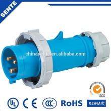 Made in china enchufe y toma impermeable enchufe industrial y zócalo / cee conector industrial para área de riesgo