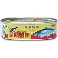 Eagle coin Fried dace with black bean 184g