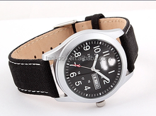 canvas fabric sports military casual fashion watch band