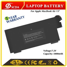 "High Quality 5000mAh 7.2V Rechargeable Battery for Apple MacBook A1245 Air 13"" Battery Packs"