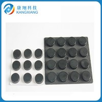 adhesive silicones rubber /NR/ EPDM /foot pads,silicone rubber self adhesive feet mat