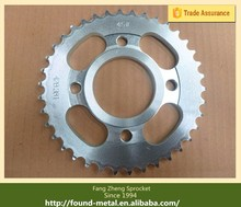 CG125 38T 15T Motorcycle Sprocket Set