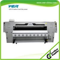 1.8m leather uv led printer soft film uv belt printer