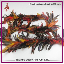 Wholesale Cheap Home Decoration Feather Garland