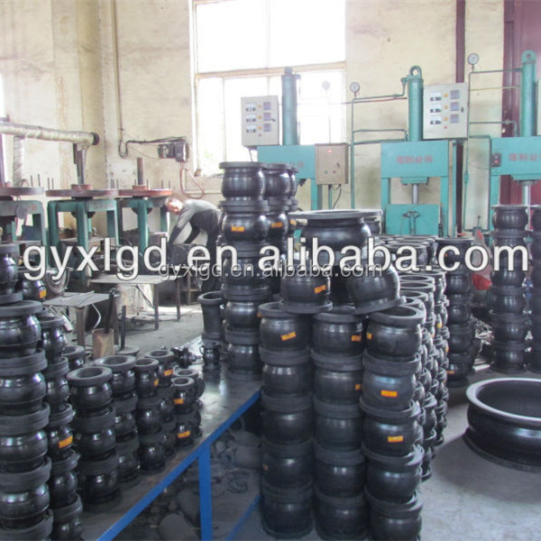 Single sphere flanged rubber expansion joints Manufactured in China