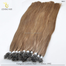 New Arrival Factory Supply Top Quality Double Drawn No Tangle No Shedding 24 inch nano ring hair extension