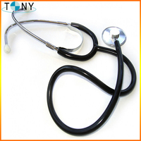 Medical Single Head Stethoscope/Double stethoscope with Cardiology
