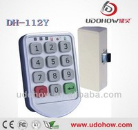 Low battery alarm digital keypad locks for lockers