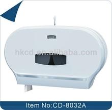 Twin Jumbo Roll Toilet Paper Dispenser, Jumbo Roll Tissue Dispenser, Toilet Paper Holder CD-8032A
