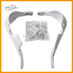 2014 Hot selling white for dirt bike or scooter hand guard