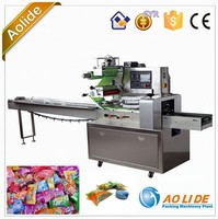 pretty packaging candy flow packing machine ALD-250B