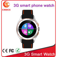 Waterproof android4.4 projector kids gps mobiles phones with 3g wrist watch smart