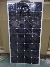50W 60W 70W 80W 90W 100W high efficient flexible Solar Panel,semi flexible sunpwer solar panel price China by Factory directly