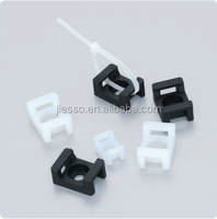 Saddle type tie mounts,cable tie holder